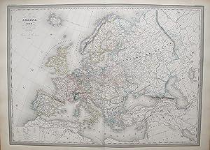 Europe en 1789.: DUFOUR, A. H.