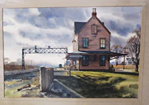 Weston-Manville Station, New Yersey.: BYE, Ranulph.