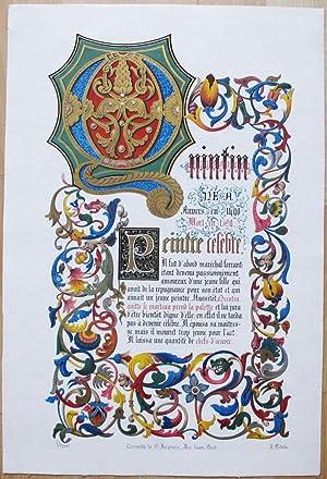 Né à Anvers en 1490. Morten 1529. Peintre célèbre. Il fut d'abord maréchal-ferrant; étant ...