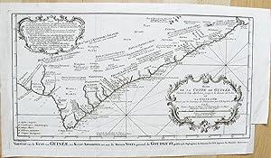 Suite de la Coste de Guinée. Depuis le Cap de Apollonia jusqu'a la Riviere de Volta ou la Coste...