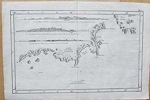Carte de la Terre Van-Diemen.: BENARD, Robert.