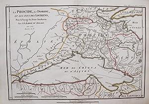 La Phocide, la Doride. et les Pays des Locriens.: BARBIE DU BOCAGE, J. D.
