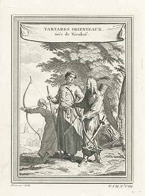 Tartares Orienteaux, tirés de Nieuhof.: BEAUVAIS, Nicolas Dauphin de.