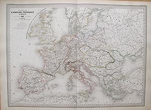 Carte de l'Empire Français 1812.: DUFOUR, A. H.