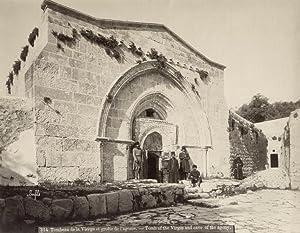 Tombeau de la Vierge et grotte de l'agonie.: BONFILS, Félix.