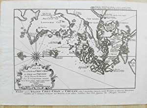 Carte de l'Iisle de Cheu-Chan ou Isle de Chusan, De la Province de Che-Kiang, Avec les Costes ...
