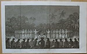 Danse de Nuit, exécutée par les Femmes de Hapaee.: WEBBER, John.