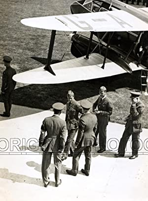 DH.9A Dragon Rapide, G-ADDD, the King George VI and the Duke of York arrived at Mildenhall ...