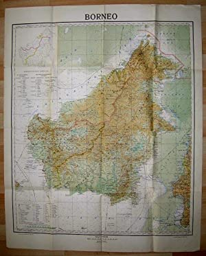 Map of Borneo, 1 : 2 000 000.: BORNEO.