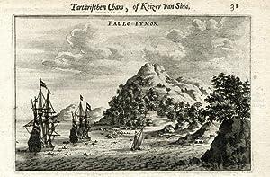View on Paulo Tymon.: NIEUHOF, Joan.
