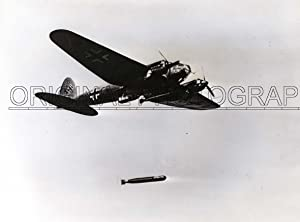 He 111, BK+CO, dropped torpedo.: HEINKEL.