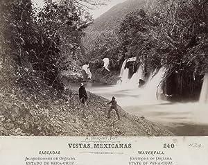 Cascades. Alrededores de Orizba. Estado de Vera-Cruz.: BRIQUET, Abel.