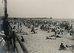 Coney Island Beach.: NEW YORK.