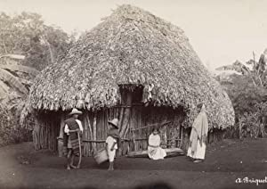Mexico. Indian House.: BRIQUET, Abel.