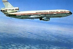 DC-10, first test flight, 1970: MCDONNELL-DOUGLAS.