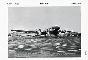 """Fw 200 V 3, WL-2600, """"Condor"""" (Immelmann III).: FOCKE-WULF."""