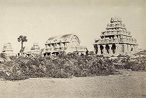 Les Sept Pagodes, près de Madras.: MADRAS.