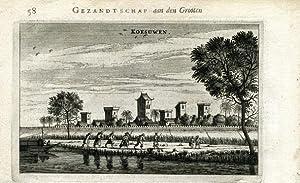 View on Koesuwen.: NIEUHOF, Joan.