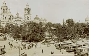 The Zocalo and Cathedral, Mexico City.: WAITE, Charles Burlingame.