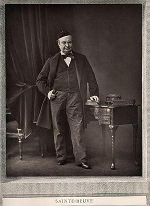 Portrait of Charles Augustin Sainte-Beuve.: GOUPIL & Cie.