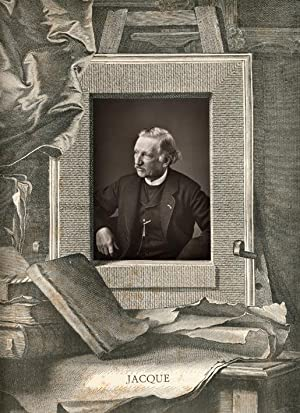 Portrait of Charles Jacque.: JACQUE, Charles.