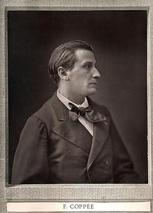 Portrait of François Coppée, Phot. by Goupil & Cie.: NADAR, Félix (Gaspard-Félix Tournachon).