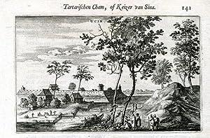 View on Ucin.: NIEUHOF, Joan.