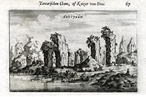 View on Suytjeen, with on the back: NIEUHOF, Joan.