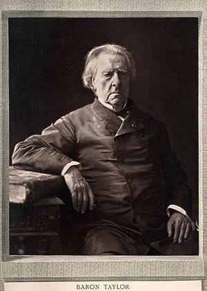 Portrait of Baron Isidore Justin Séverin Taylor, Phot. by Goupil & Cie.: NADAR, Félix (...