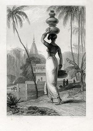 A Hindoo Female.: DANIELL R. A., William.