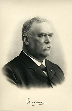 Portrait of Jan Volkert Wierdsma, after a photograph by S. A. Schotel, Arnhem, with short biography...