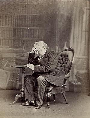 Portrait of Antonio Panizzi.: EDWARDS, Ernest.