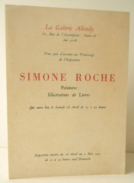 Simone Roche Peintures Illustrations De Livres Carton D