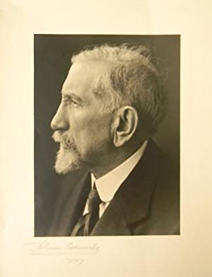 PORTRAIT PHOTOGRAPHIQUE ORIGINAL DE CHARLES MAURRAS.