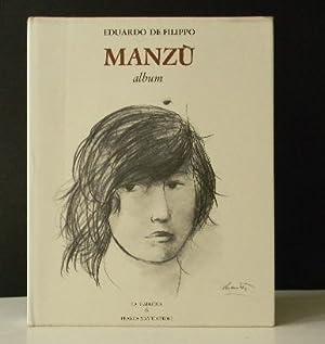 MANZU. Album.: DE FILIPPO (Eduardo)