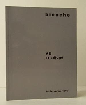 VU ET ADJUGE. Catalogue de la vente: PHOTOGRAPHIE] AGENCE VU.