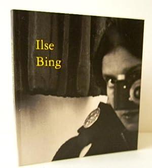 ILSE BING: PHOTOGRAPHIE] BING (Ilse)