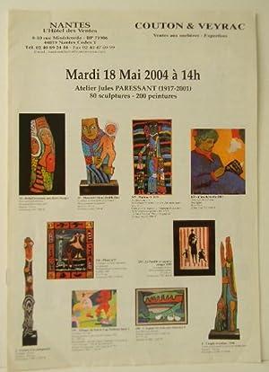 ATELIER JULES PARESSANT (1917-2001): PARESSANT (Jules).