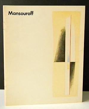 MANSOUROFF. Catalogue de l'exposition organisée au Musée: MANSOUROFF (Paul)