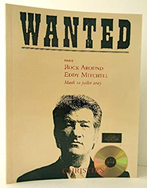 WANTED. ROCK AROUND EDDY MITCHELL. Collection d?affiches de cinéma et memorabilia. Catalogue de l...