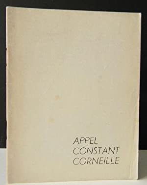 APPEL, CONSTANT, CORNEILLE. Catalogue de l?exposition du Groupe expérimental hollandais (COBRA)ch...