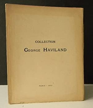 COLLECTION GEORGE HAVILAND.: ARTS DECORATIFS] LAQUES,