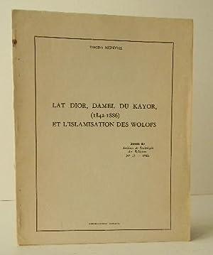 LAT DIOR, KAMEL DU KAYOR, (1842-1886) ET: ISLAM NOIR] MONTEIL
