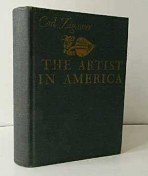 THE ARTIST IN AMERICA. Twenty-four close-ups of contemporary printmakers.