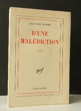 D'UNE MALEDICTION.
