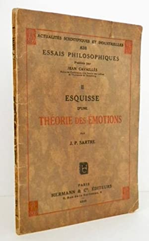 ESQUISSE D'UNE THEORIE DES EMOTIONS.