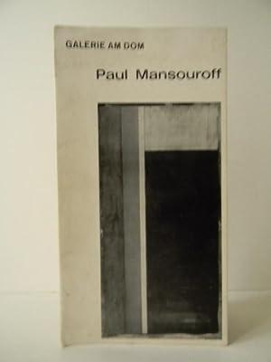 PAUL MANSOUROFF.: MANSOUROFF]