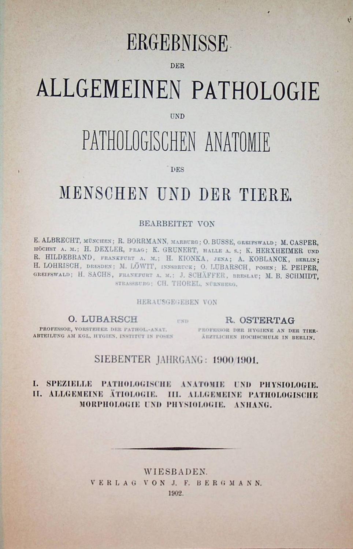 die pathologische anatomie von robert - ZVAB