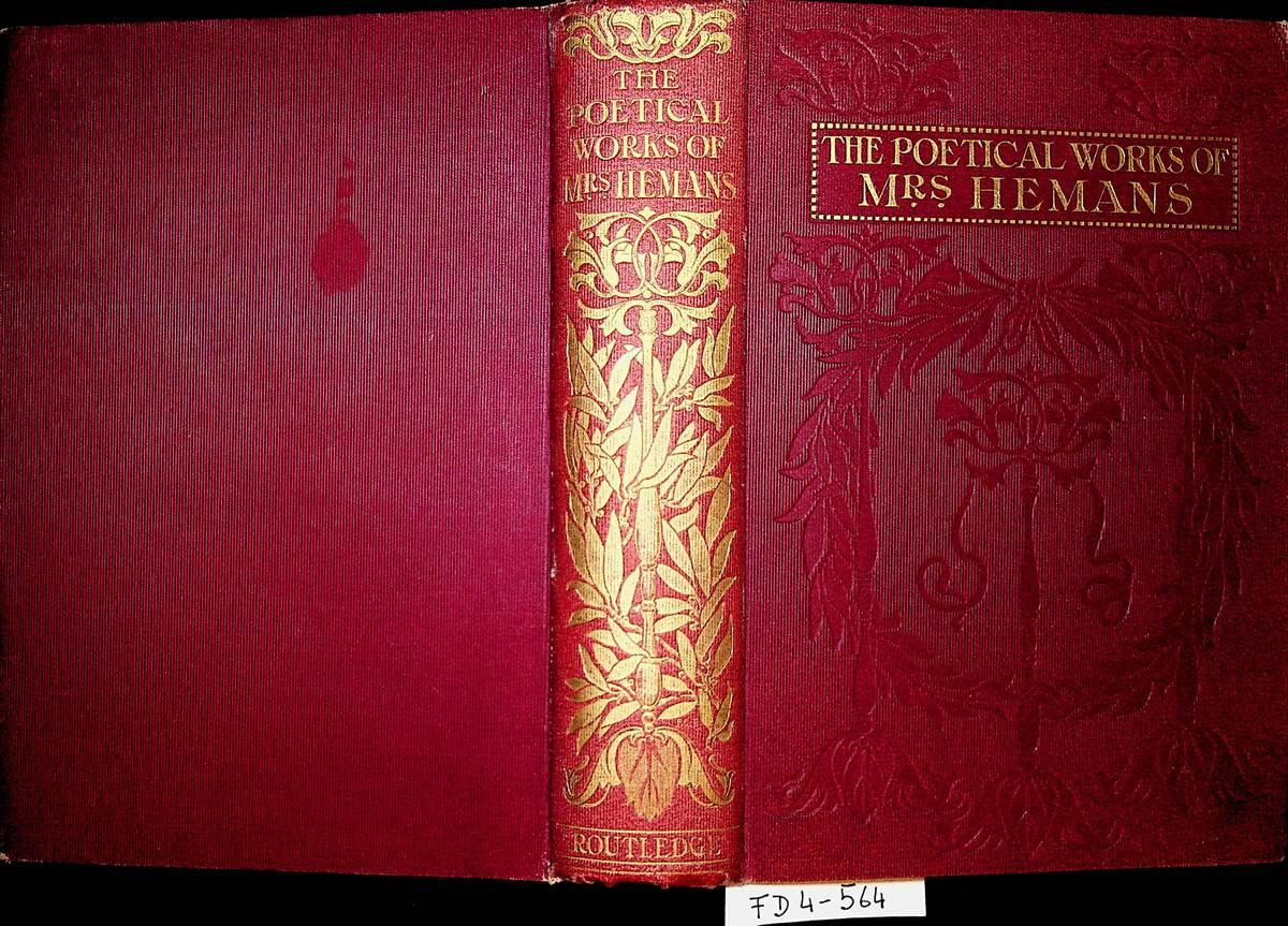 Poems With 41 illustrations by Hal Ludlow: BROWNE, afterwards HEMANS,