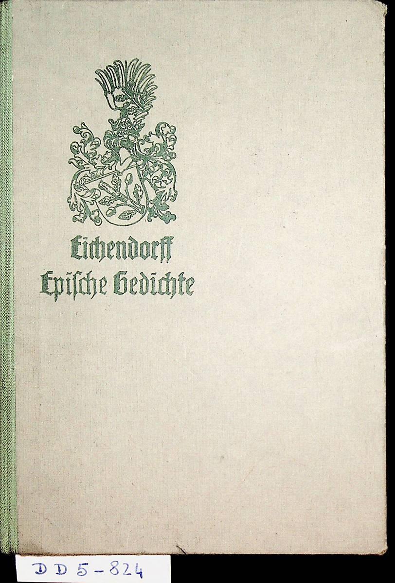 Epische Gedichte Sämtliche Werke Des